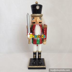 wholesale high quality kids wooden nutcracker dolls  for sale W02A066