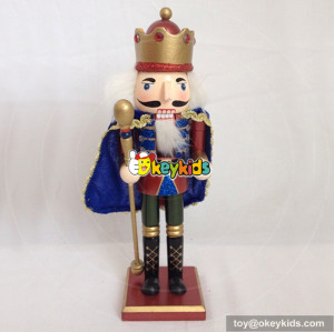wholesale hottest sale wooden christmas nutcracker soldier for kids W02A068