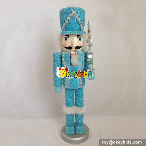 wholesale new fashioned wooden toy nutcracker soldier W02A069A