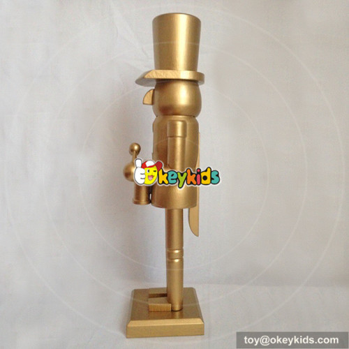 wholesale most popular wooden kids nutcracker toy for funny W02A072A