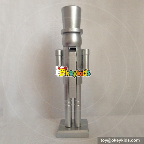 wholesale new fashion baby wooden nutcracker soldier for sale W02A072B