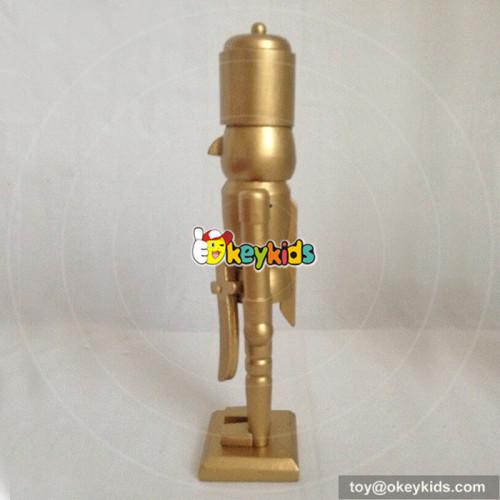 wholesale cheap children wooden nutcracker soldier for sale W02A073A