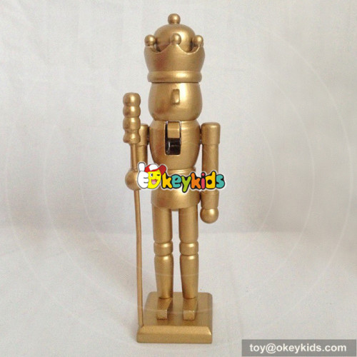Wholesale top quality wooden nutcracker gifts toy for children W02A074B