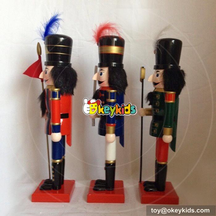 wooden nutcracker statues