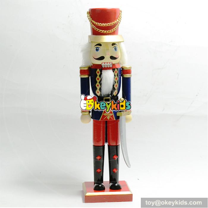 wooden colorful nutcracker