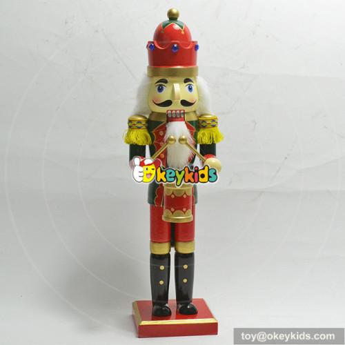 wholesale popular custom baby wooden colorful nutcracker W02A193