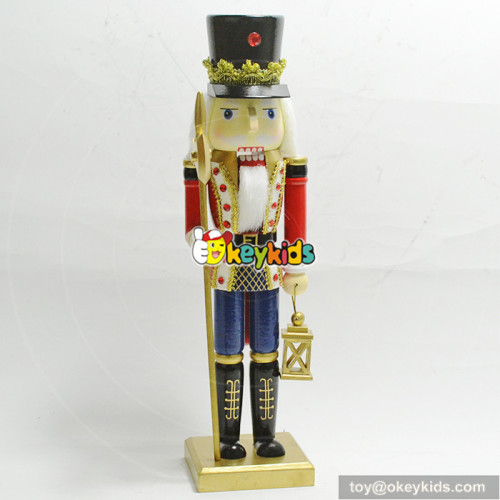 New design wooden nutcracker suite as christmas decoration W02A196