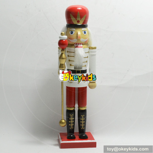 wholesale new europe style wooden nutcracker figurines for children W02A198