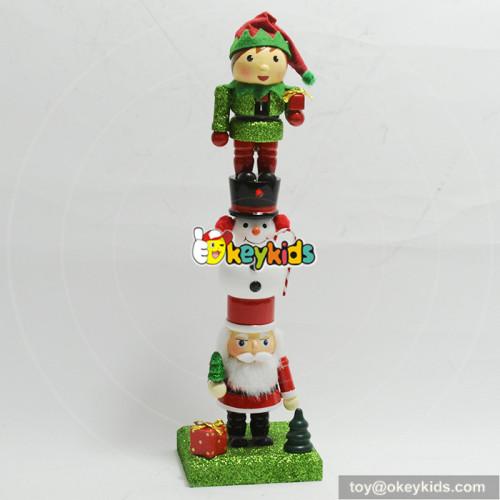 Wholesale best gift delicate baby wooden nutcracker W02A201