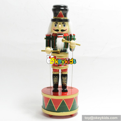 Top quality promotional baby doll nutcracker wooden toy W02A213