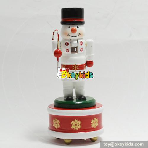 Hot sale handmade wooden toy nutcracker dolls for kids W02A215