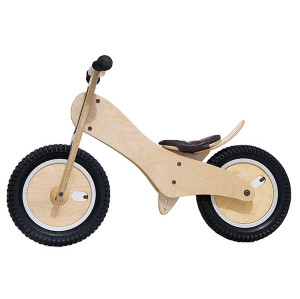Wholesale hottest sale kids wooden cartoon balance bike W16C059