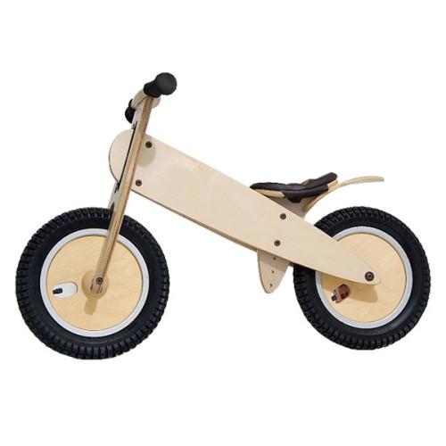 Wholesale hottest sale kids wooden cartoon balance bike W16C059