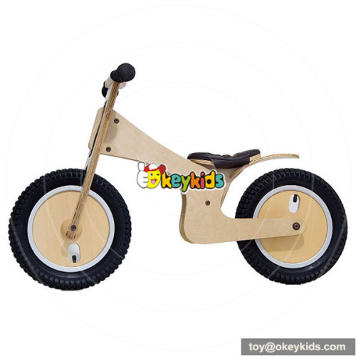wholesale top quality kids wooden baby bike for sale W16A063