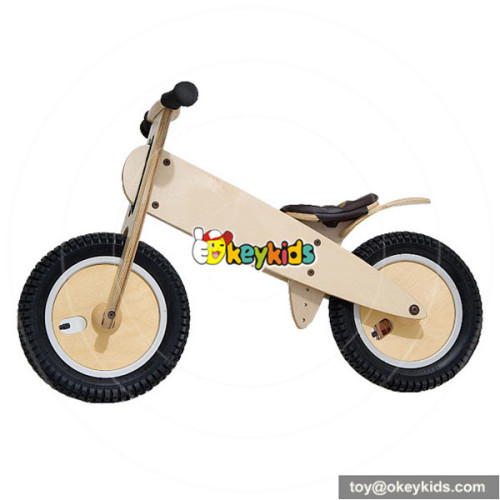 Wholesale early learning wooden balance bike without pedals for children W16C065