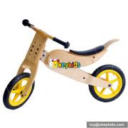 Wholesale brand new hot sale baby wooden cartoon balance bike W16C066