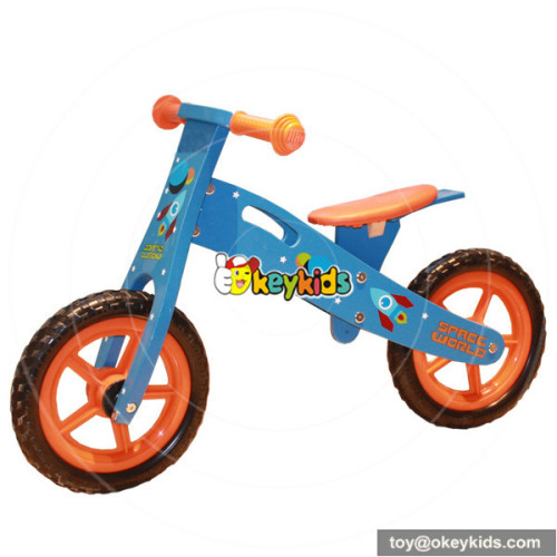 Wholesale top sale wooden kids balance bicycle without pedal W16C070