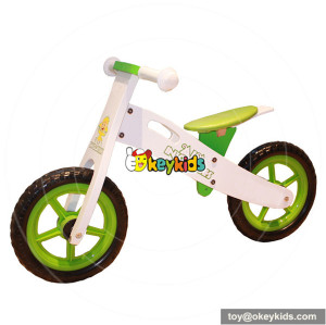 Wholesale top fashion wooden indoor balance bike for kids W16C073