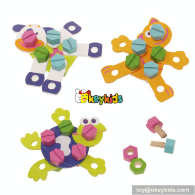 Wholesale most popular cute wooden kids toys for sale W03C006