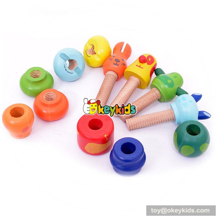 kids wood screws toys