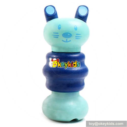 wholesale best sale wooden screw animals for children as teaching gift W03C011