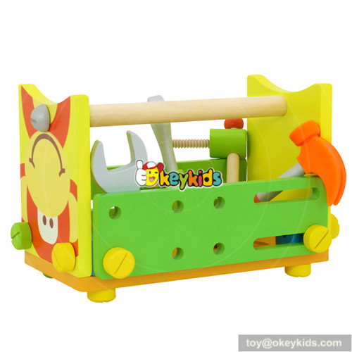 wholesale most popular wooden children screws toys for sale W03C020