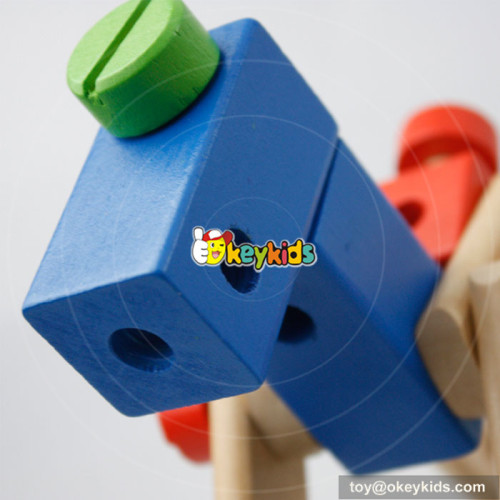 wholesale high quality baby wooden educational games W03C021