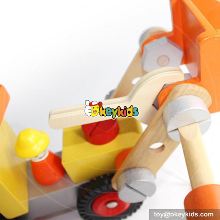 wooden children toys car