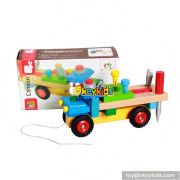 wholesale new fashion wooden children toys car for sale W03C022