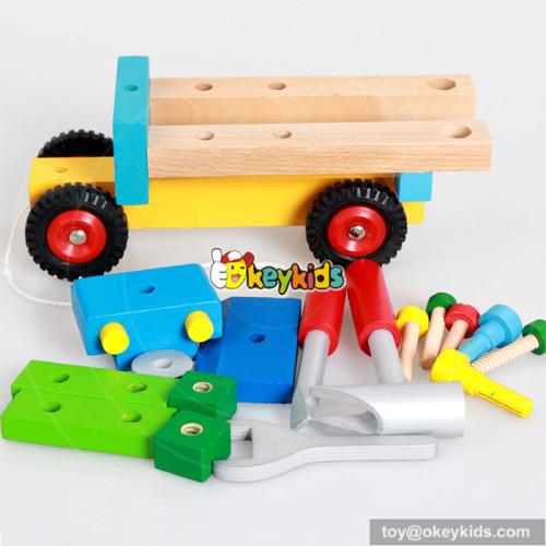 wholesale new fashion wooden children toys car for sale W03C022