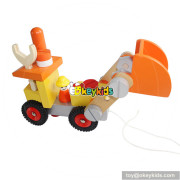 wholesale New design children wooden vehicle toy for best sale W03C023