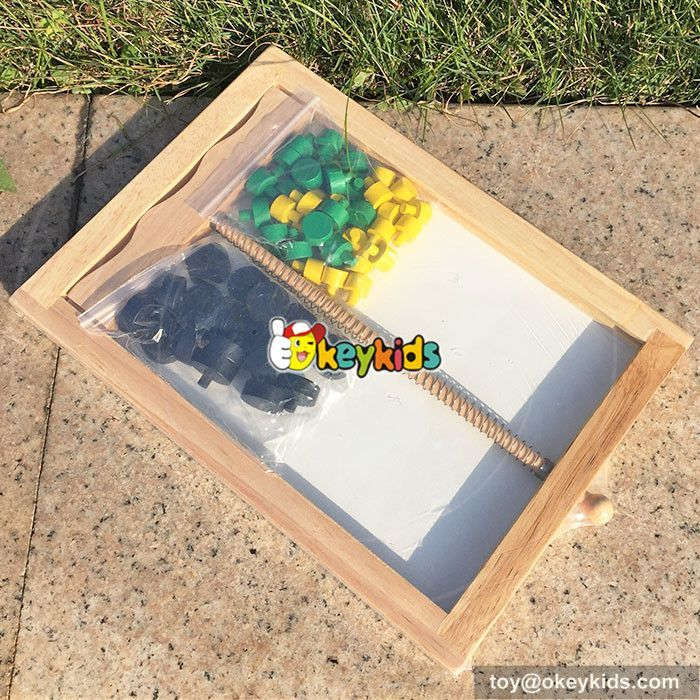 wooden mouse trap game