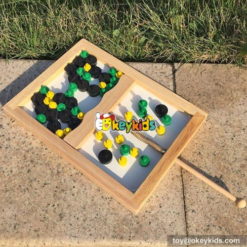 wholesale high quality wooden mouse trap game for children W11A035