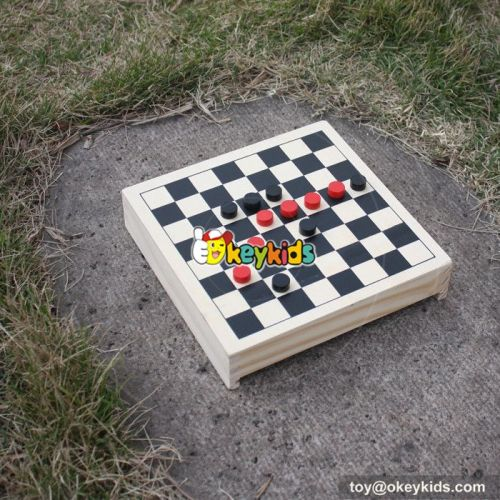 wholesale most popular multi-function children wooden chess board W11A048