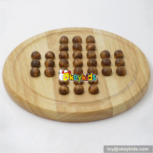 wholesale new design children wooden checkers set for sale W11A051