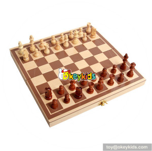 Wholesale best sale wood international chess game for children W11A061
