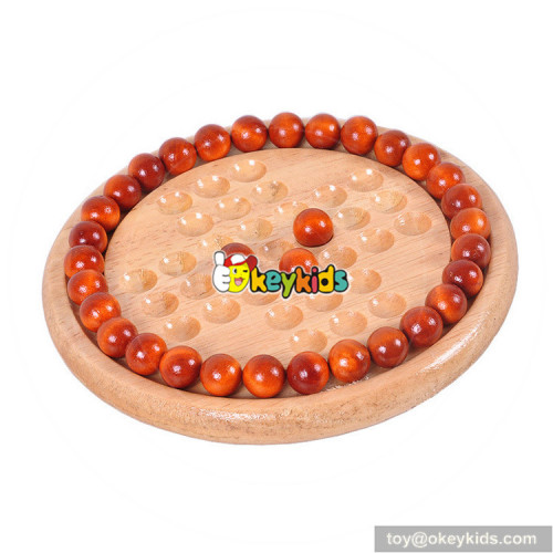 Wholesale high quality wooden chess game for children as gift W11A062