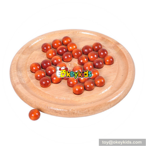 Wholesale unique creative wooden chess board toy W11A063