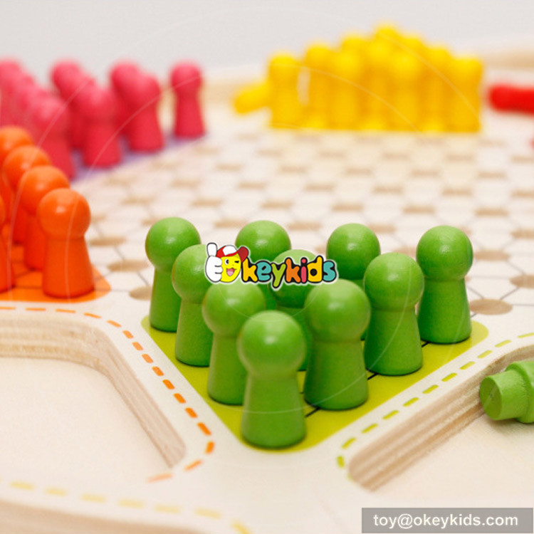 wooden toy checkers