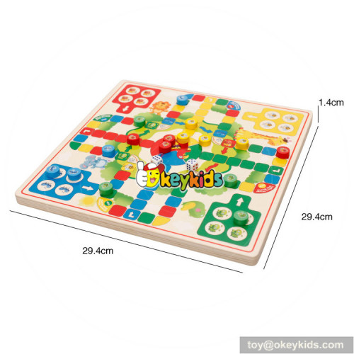 wholesale top fashion interesting children wooden toy checkers W11A064