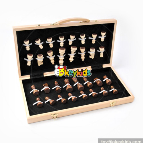 wholesale hottest wood international chess board for children W11A072