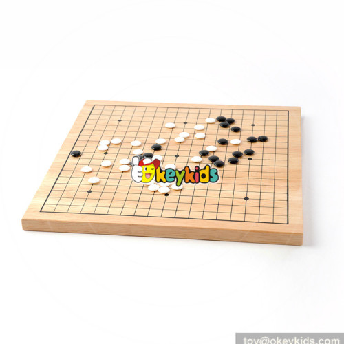 Wholesale hot sale educational chess game wooden board game W11A073