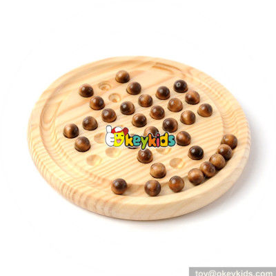 Wholesale hottest sale wooden chess set game for toddlers W11A076
