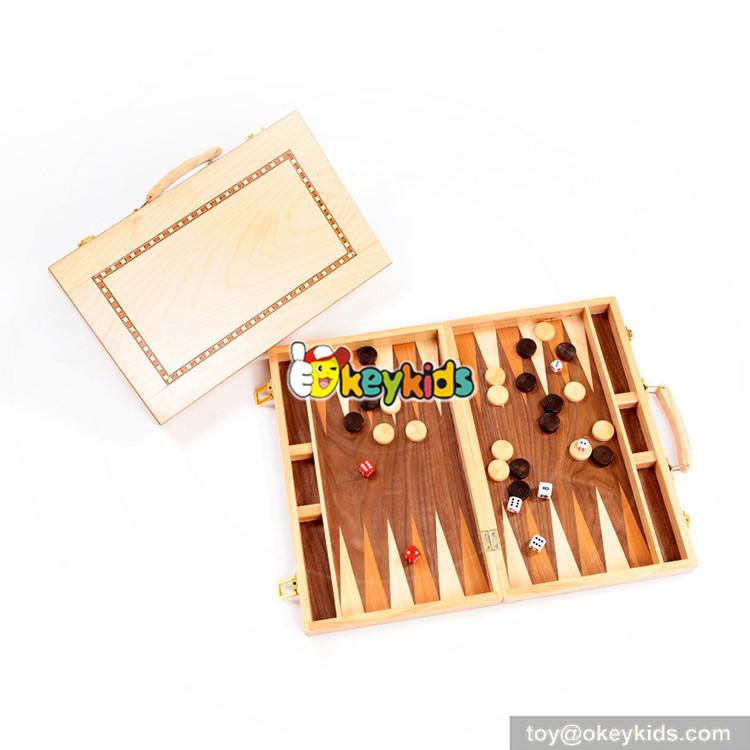 wooden Backgammon toys