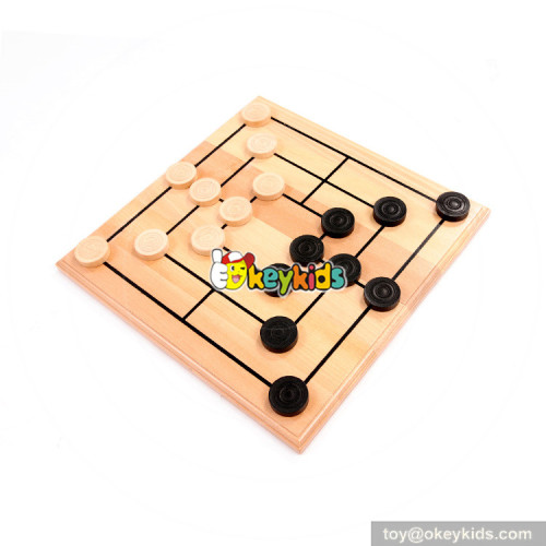 Wholesale top quality children chess game wooden Backgammon toys W11A082