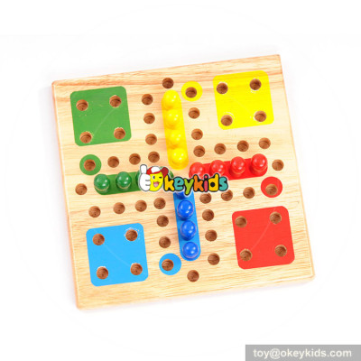 Wholesale unique style indoor wooden International Checkers games for adults W11A083