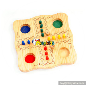 Wholesale most popular wooden cross and circle game for children W11A084