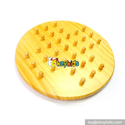 Wholesale educational game board wooden traditional toys for children W11A085