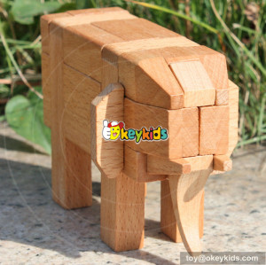 wholesale new fashion children wooden intelligence toy for sale W11C014