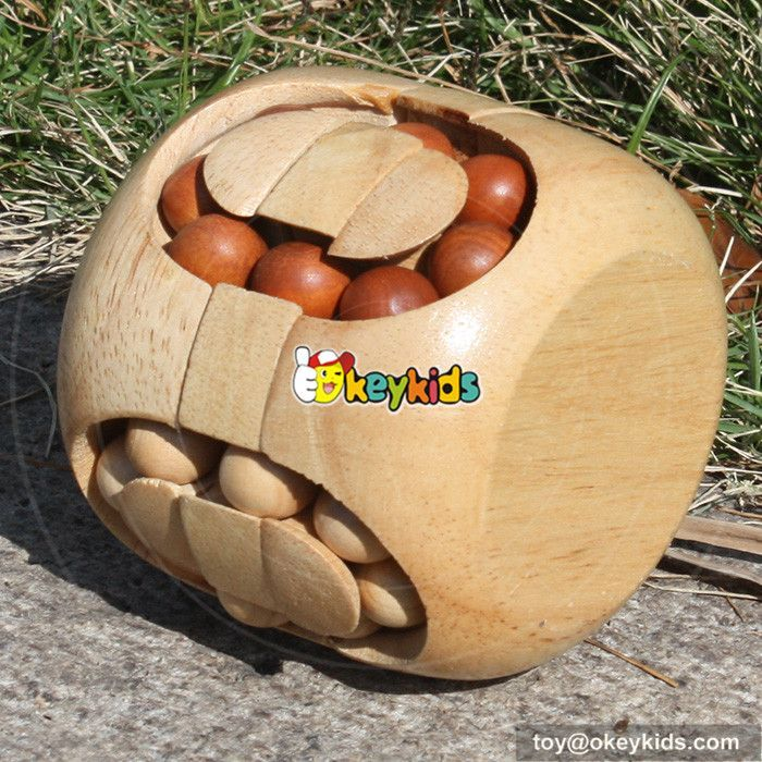 wooden intelligence toy